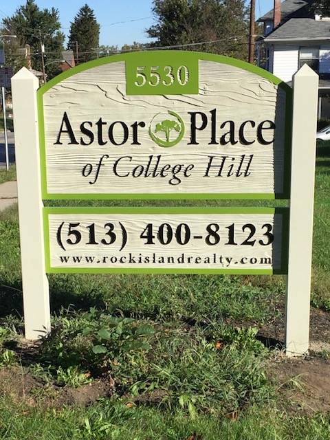 Astor Outdoor Sign