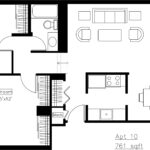 Astor Place Floor Plan — 2 Bedroom